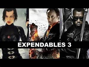 The Expendables 3 : Milla Jovovich, Jackie Chan, Wesley ...