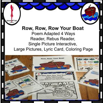 Row Row Your Boat Worksheet by Row Your Boat Preschool Worksheets Row Best Free
