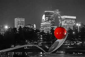 Minneapolis Skyline And Cherry Photograph by Near and Far ...