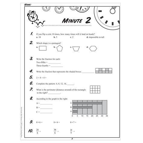 fourth grade math minutes homeshealth info