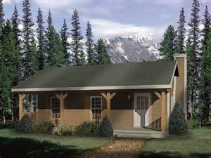 woodbriar rustic country cabin plan 058d 0136 house plans and more - Country Cabin Floor Plans