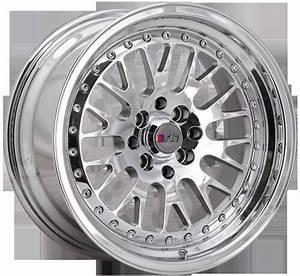 16 U0026quot  F1r Wheels F02 Chrome Jdm Style Rims  For012