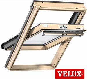 Velux Ggl 4 : velux ggl uk10 3066 pine centre pivot roof window ~ Melissatoandfro.com Idées de Décoration