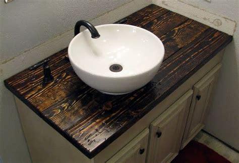 making  vanity top   install  bowl sink michael
