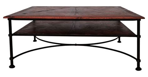 table basse bois fer forge table basse fer forg 233 bois recycl 233 danny 114x61x50