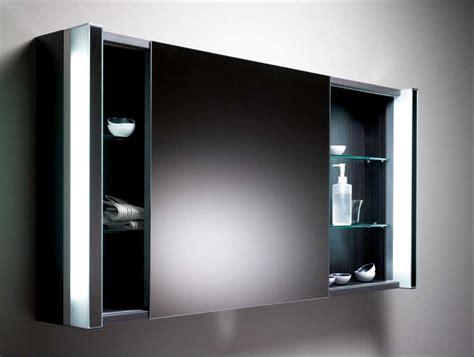 Badezimmer Spiegelschrank Mit Schiebetüren by Spiegelschrank Bad Schwarz Mit Schiebet 252 R Inklusive