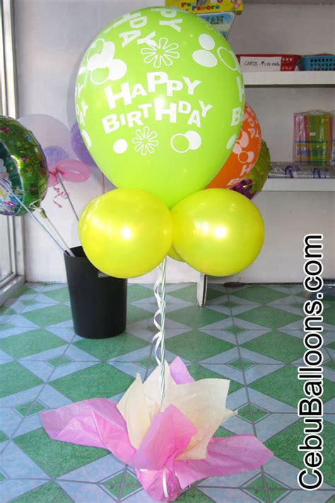 balon foil pony pink simple stage balloon decoration cebu balloons and