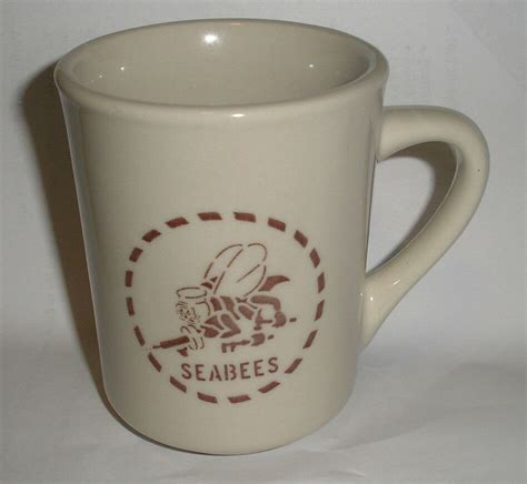 Browse tons of unique designs or create your own custom coffee mug with text and images. Excellent US Navy Fighting SEABEES new Ceramic Coffee Mug   eBay