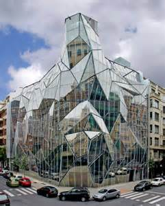 Health Department Building in Bilbao Spain