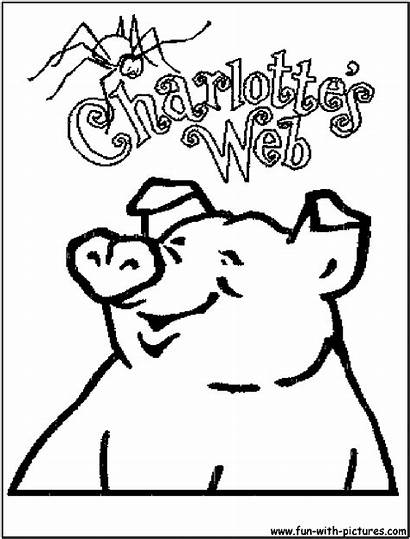 Coloring Web Pages Charlotte Printable Charlottes Fun