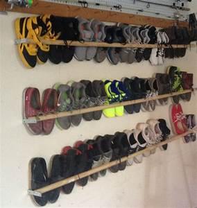 Rangement Chaussures Original : rangement chaussures original en 33 id es super cr atives dans neutre ext rieur accent ~ Teatrodelosmanantiales.com Idées de Décoration