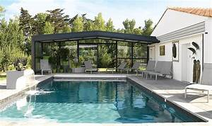 Abri Haut Piscine : abri piscine haut adoss accol mod les t lescopiques ~ Premium-room.com Idées de Décoration