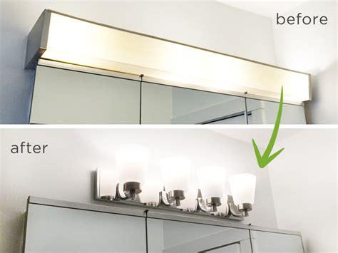 Bathroom Vanity Light Fixtures...up Or Down!?