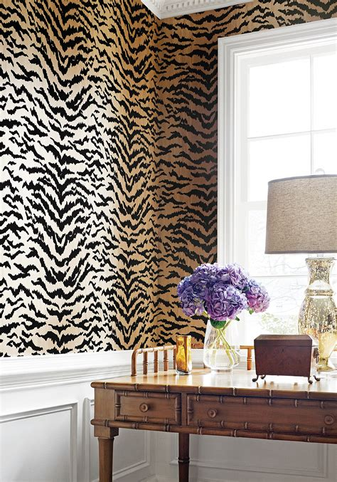 Thibaut Animal Print Wallpaper - amazing animal print wallpaper ideas shoproomideas