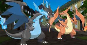 pokemon x y charizard mega evolutions