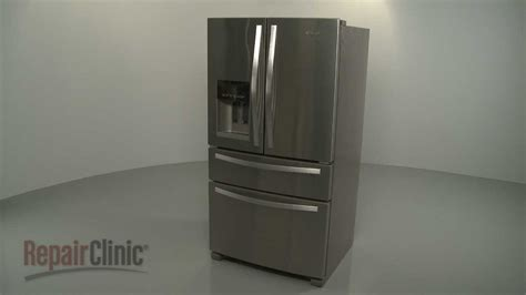 disassemble  whirlpool french door refrigerator