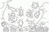 Coloring Ocean Pages Preschool sketch template