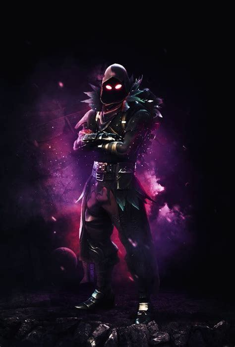 fortnite raven wallpaper   gaming wallpapers