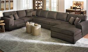 Large Sofa Sectionals Interesting Oversized Sectional Sofa With - TheSofa
