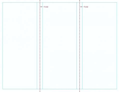Blank Tri Fold Brochure Template Blank Free Brochure Templates For Word