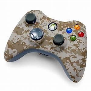 Xbox 360 Modded Controller Desert Camo  U2013 Gamerzicon Com
