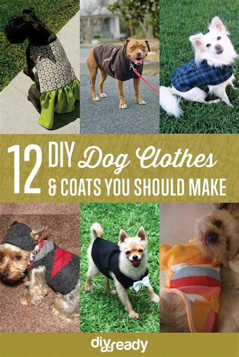 diy dog clothes  coats    sewing dogs