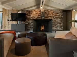 steinwand wohnzimmer paneele 100 neue ideen für wandgestaltung mit naturmaterialien