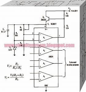 Op Amp Regulator Circuit Diagram