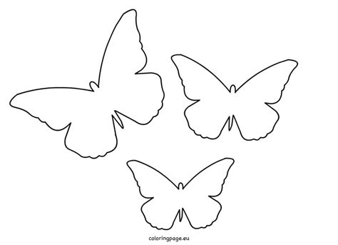cut out template butterfly coloring template cut out page grig3 org