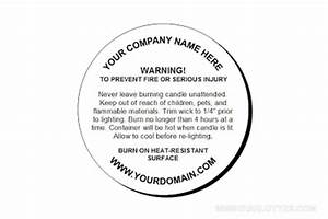 5 best images of printable warning labels for candles for Free printable candle warning labels