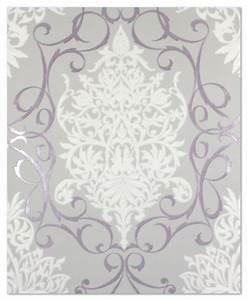 Tapete Ornamente Grau : tapete 796162 rasch tapeten queens 2013 violett grau wei ~ Buech-reservation.com Haus und Dekorationen