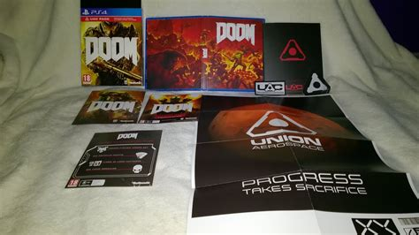 doom uac pack unboxing youtube