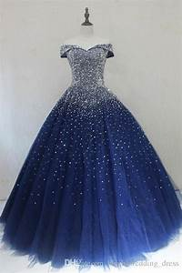 Navy Blue Quinceanera Dresses Ball Gowns Princess Puffy ...