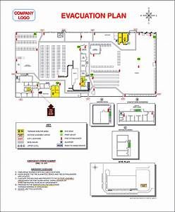 Image gallery evacuation plan for Fire evacuation plan template for office