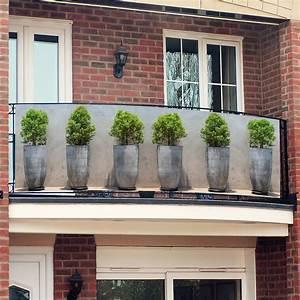landi sichtschutz balkon gt kollektion ideen garten design With französischer balkon mit garten pflanztöpfe