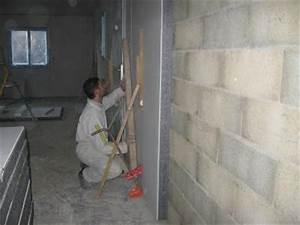 Plaque Isolante Mur : pose du complexe isolant construction de ma future villa ~ Melissatoandfro.com Idées de Décoration
