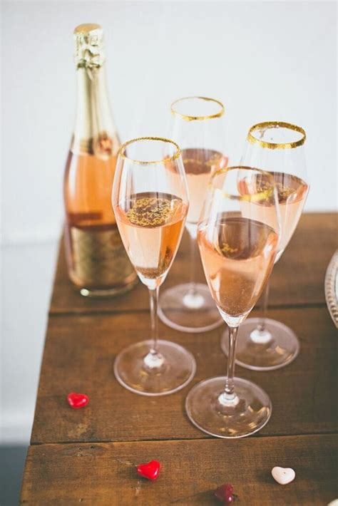 ultimate pink gold red galentines day celebration