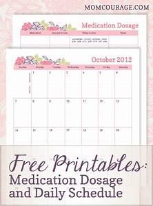 Medicine Chart For Elderly Free Printables Medication Dosage Chart And Calendar