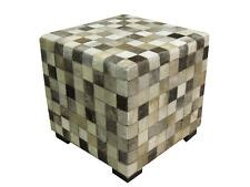 Cowhide Cube Ottoman by Cowhide Ottoman Ebay
