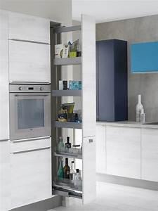 petite cuisine 12 astuces gain de place cote maison With gain de place cuisine