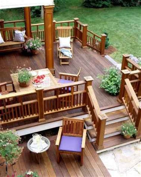 Backyard Decks Ideas by Home And Garden August 2011