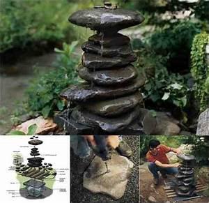 Beautiful DIY Zen Water Fountain - Do-It-Yourself Fun Ideas