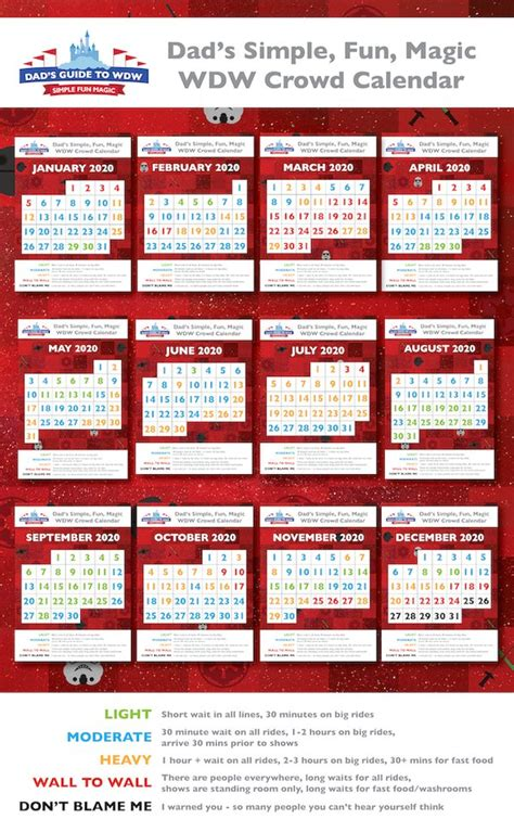 december disney world crowds calendars tips tricks avoid