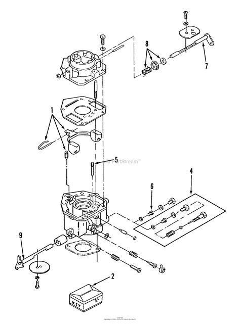 Onan Carb Diagram by Toro 21 10k806 310 8 Garden Tractor 1989 Parts Diagram