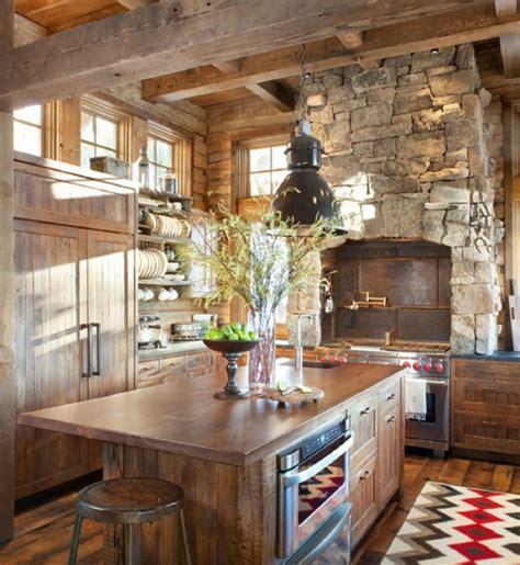 small cabin kitchen