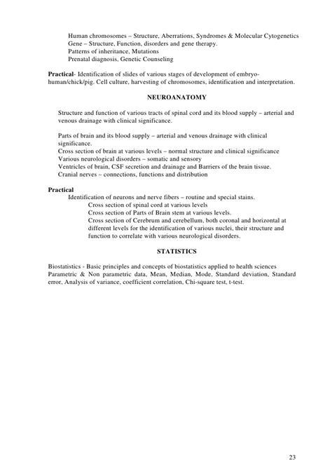 Md & ms curriculum