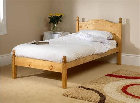 size wood bed orlando low foot end small single bed frame 15350