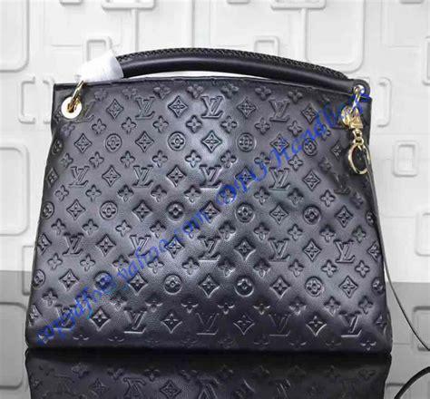 louis vuitton monogram empreinte leather artsy mm black