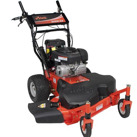 ariens waw 34 quot wide area walk behind self propelled lawn