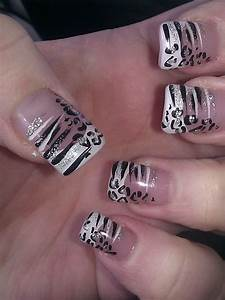 Zebra Print Nail Design: Trend manicure ideas 2017 in pictures